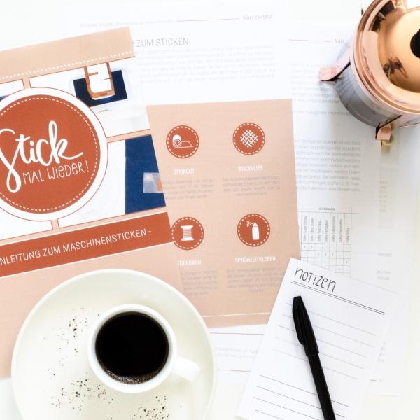 E-Book zum Thema Sticken - Stick mal wieder! - Materialien zum Sticken