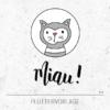 Plotterdatei / Plottervorlage Miau! - Kater / Katze im Scheinwerferlicht