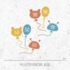 Plotterdatei / Plottervorlage Luftballons - Größenetiketten