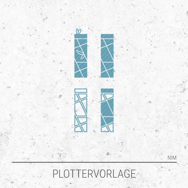 Plotterdatei / Plottervorlage Alphabet - Buchstabe I wie Ida