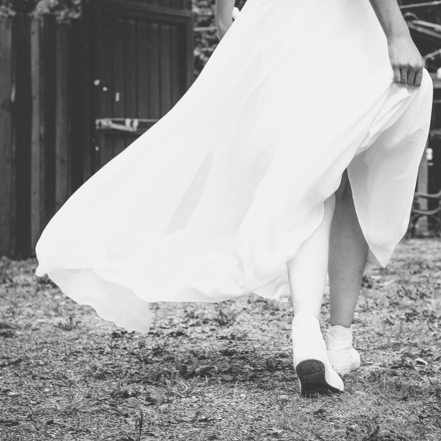 Heiraten in Converse Chucks