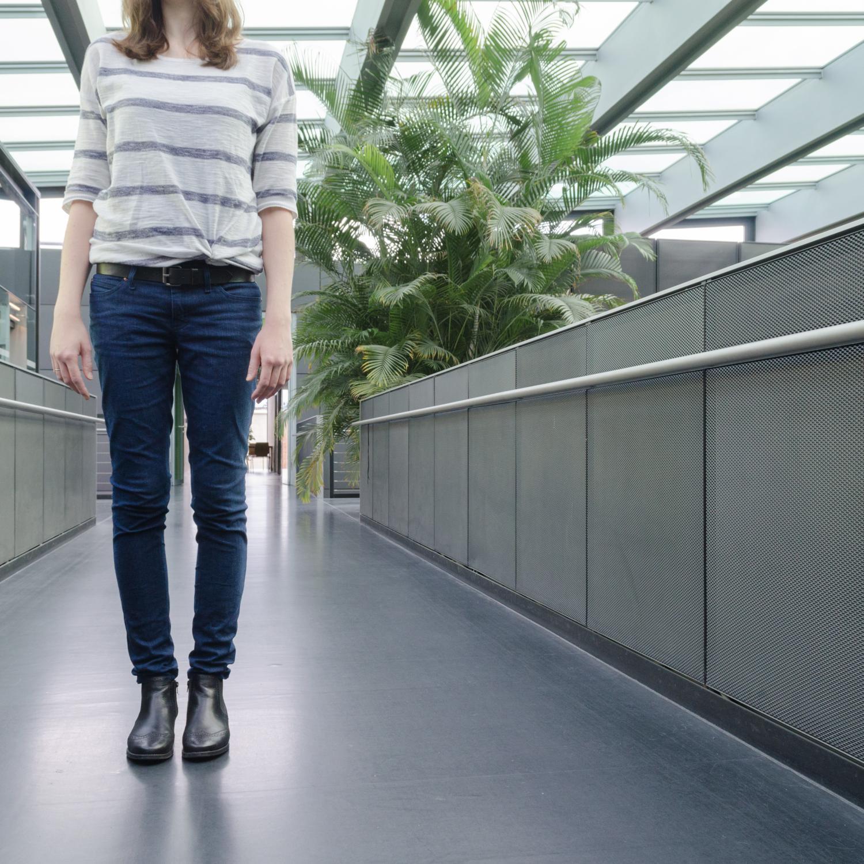 Jeans nähen, Schnittmuster Ginger Jeans von Closet Case Patterns, Röhrenjeans - hüfthoch und mit schmalem Bein