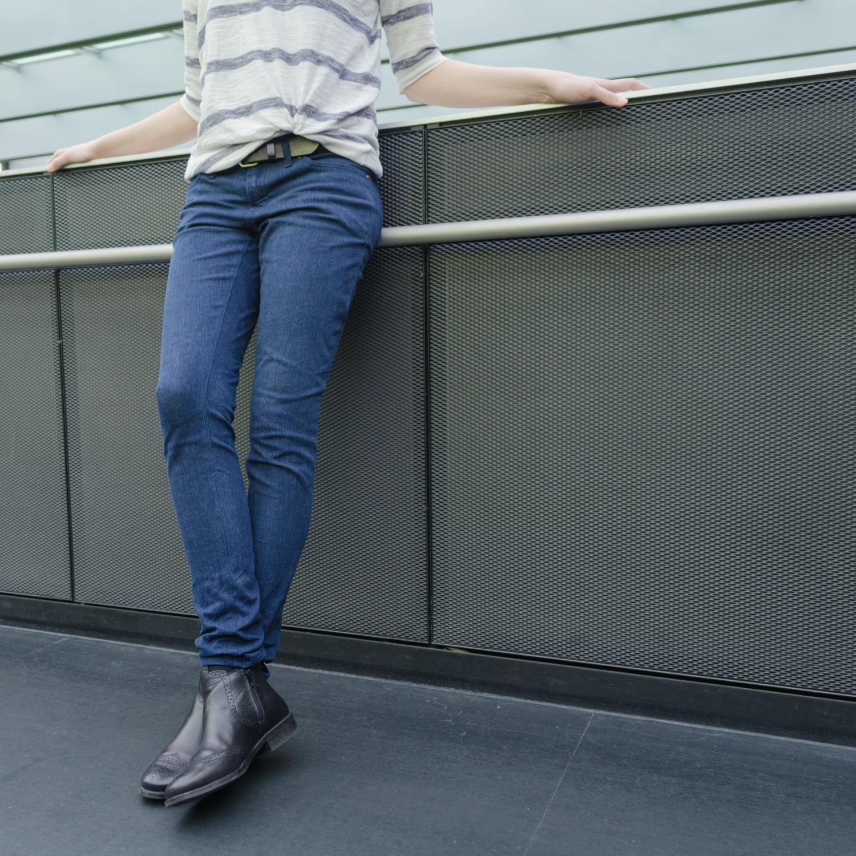 Jeans nähen, Schnittmuster Ginger Jeans von Closet Case Patterns, low-rise und skinny leg