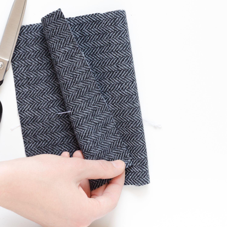 Kurz-Tipp zum Nähen: Markierungen für Taschen, Abnäher, ... vom Schnittmuster auf den Stoff übertragen, Schritt 9